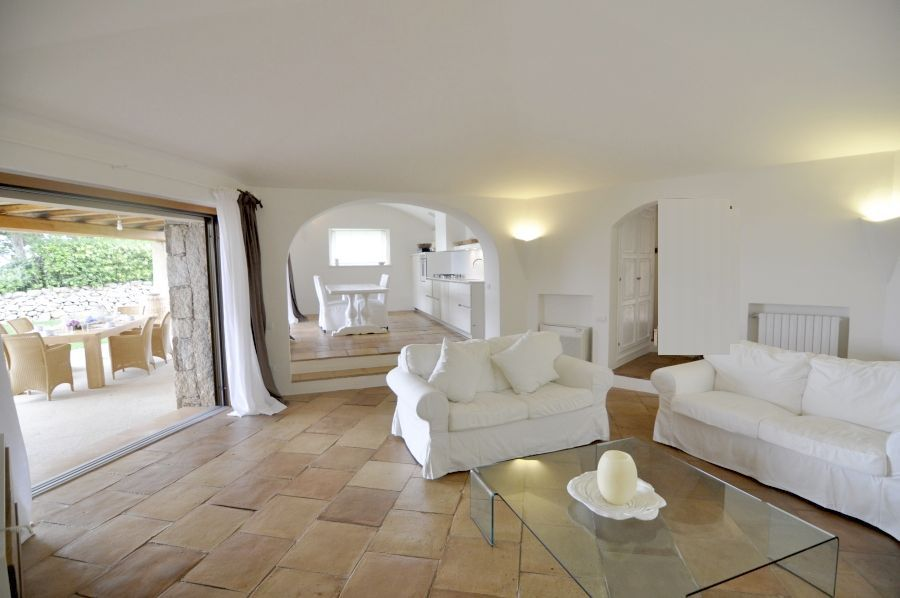 14 Villa barone living room