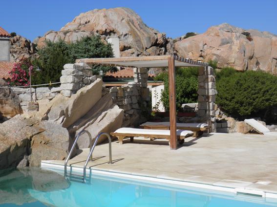 4  Villa la maddalena lux pool