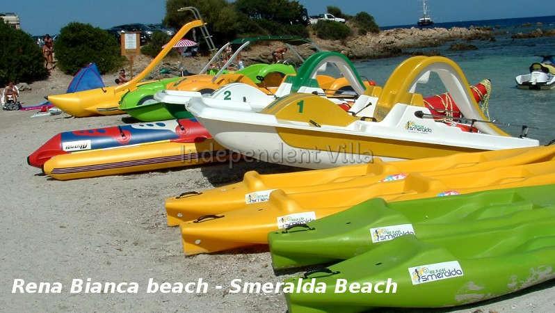 11 Rena Bianca smeralda beach giochini