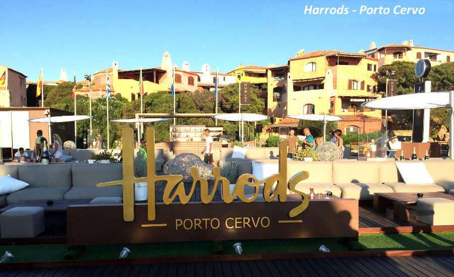 Shopping in Costa Smeralda Harrods Porto Cervo