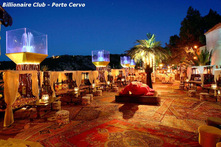 Billionaire Club Porto Cervo