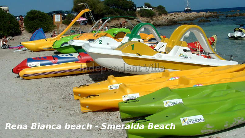 40 Rena Bianca smeralda beach giochini