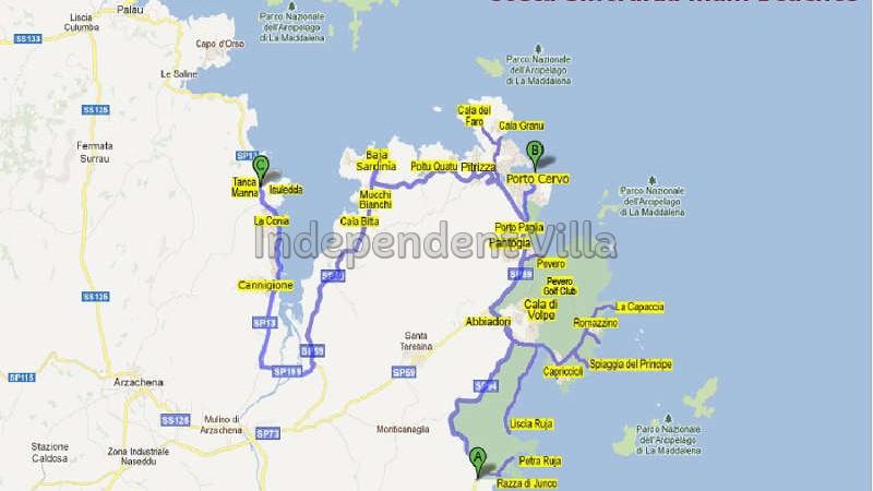 80 Map of beaches