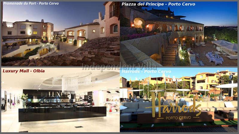 VILLA STAR LUX, Villas De Luxe En Sardaigne Avec Un Grand Salon Panoramique  Avec Billard