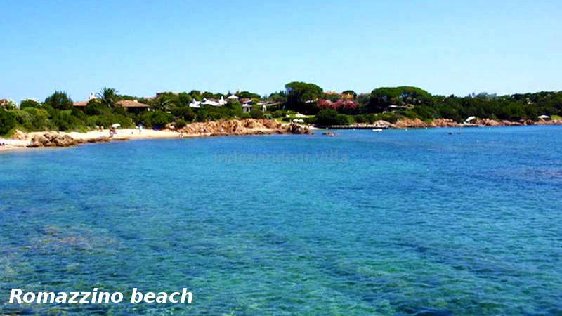 100 Romazzino beach