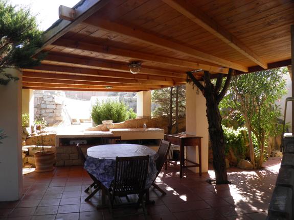 10 Villa la maddalena lux outside dining area