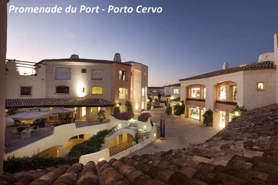 Rent luxury villa Sardinia - Shopping Porto Cervo