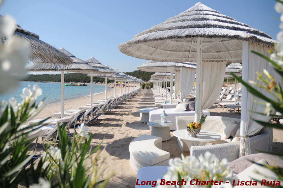 Spiagge Costa Smeralda Long beach Charter