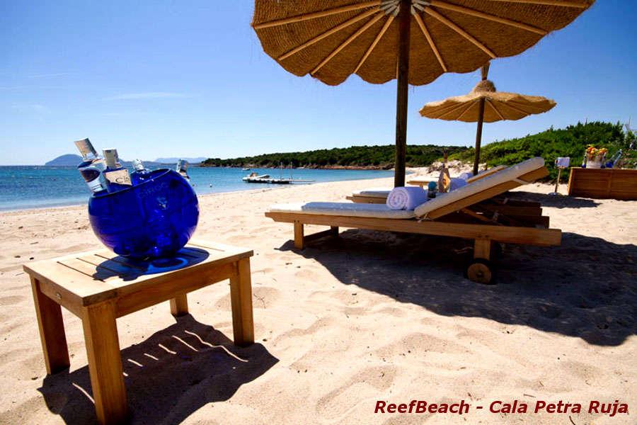 Spiagge Costa Smeralda Reef beach