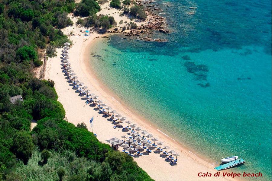 Spiagge Costa Smeralda Cala di Volpe