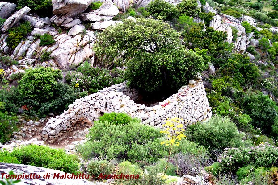 Archeologia della Costa Smeralda Tempietto di Malchittu