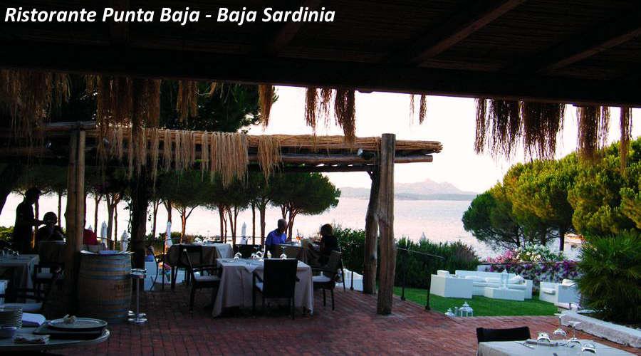 Ristorante Punta Baja Baja Sardinia