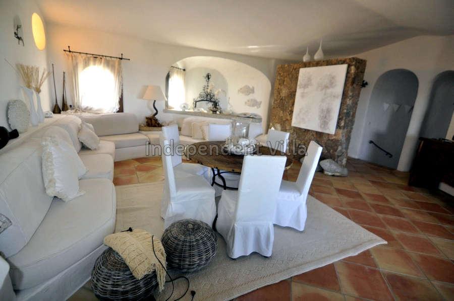 14 Le ville del Pevero Lux sitting room
