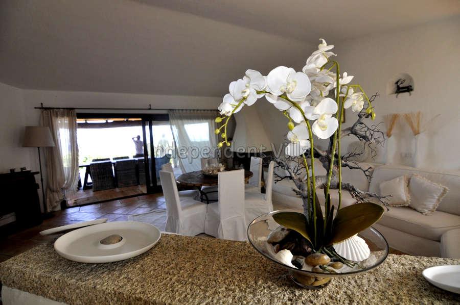 15 Le ville del Pevero Lux sitting room