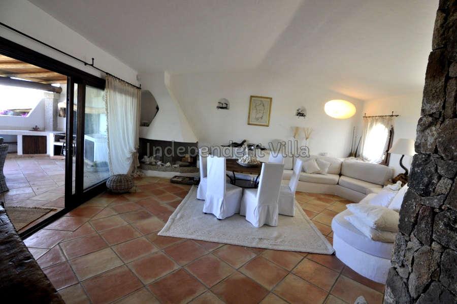 16 Le ville del Pevero Lux sitting room