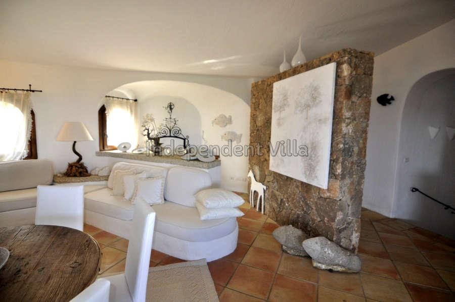 17 Le ville del Pevero Lux sitting room