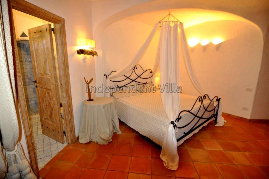 19 Le ville del Pevero Lux bedroom