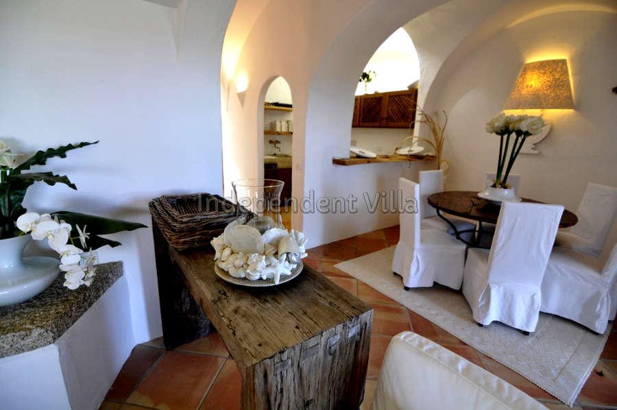 36 Le ville del Pevero Lux small villa sitting room