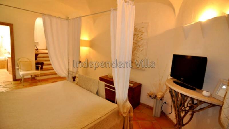 41 Le ville del Pevero Lux small villa bedroom