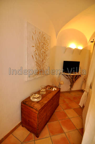 43 Le ville del Pevero Lux small villa bedroom