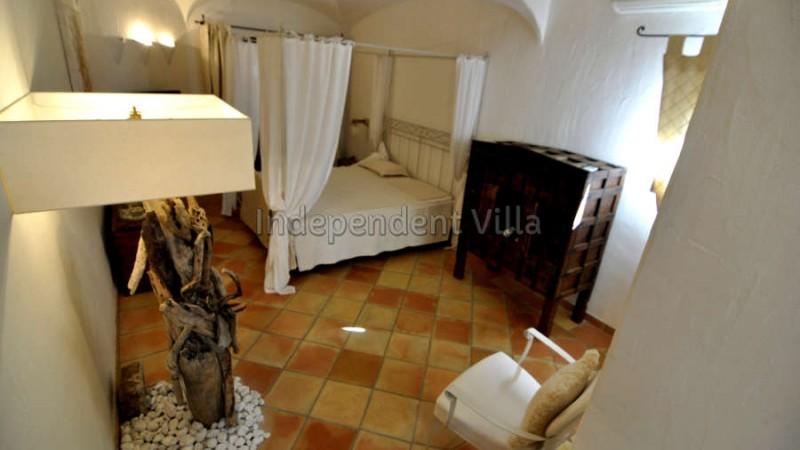 45 Le ville del Pevero Lux small villa bedroom