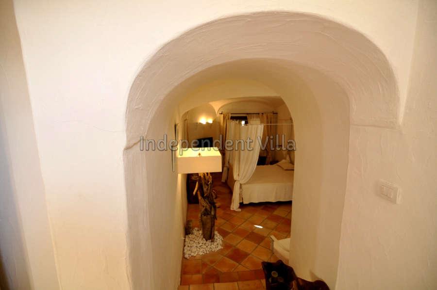 46 Le ville del Pevero Lux small villa bedroom