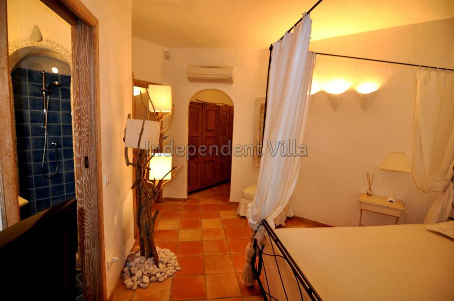 49 Le ville del Pevero Lux small villa bedroom