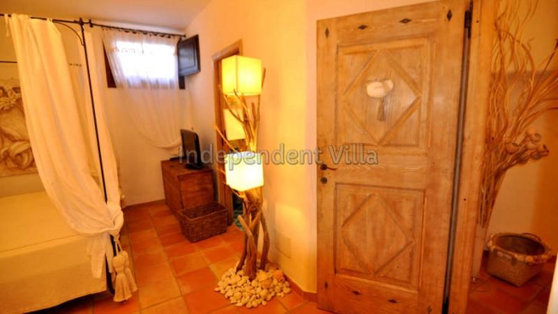 4Le ville del Pevero Lux small villa bedroom