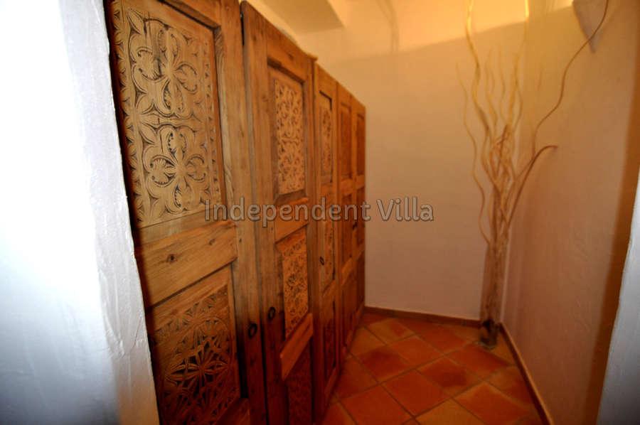 51 Le ville del Pevero Lux small villa bedroom