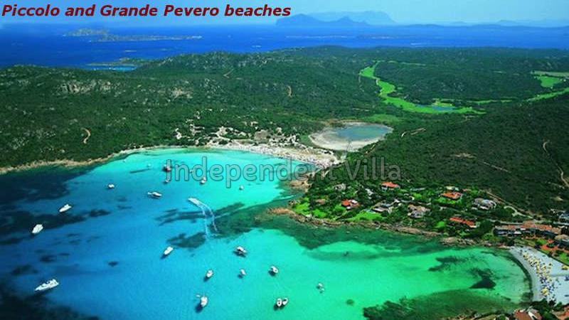 66 Piccolo and Grande  Pevero beaches