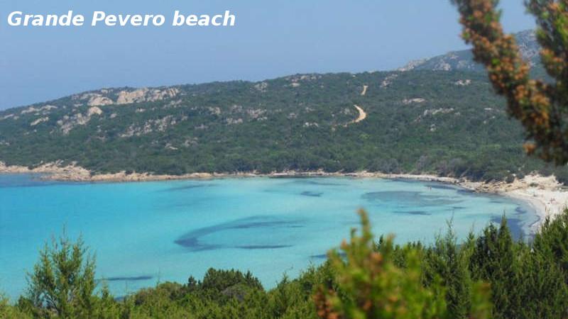 Grande Pevero beach
